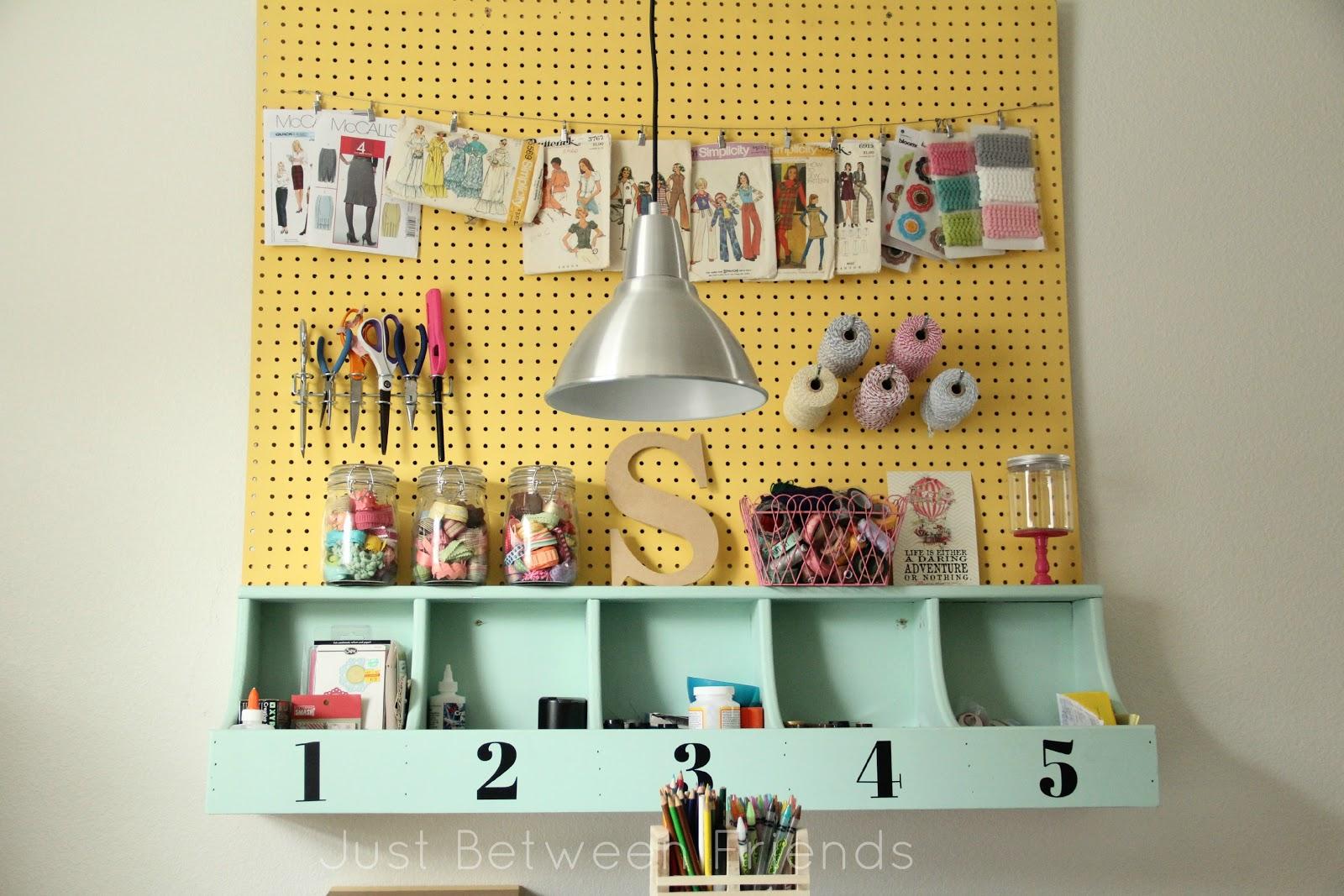 My Craft Room {2} - Just Between Friends