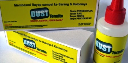 Obat Rayap Bubuk No.1 di Indonesia DUST