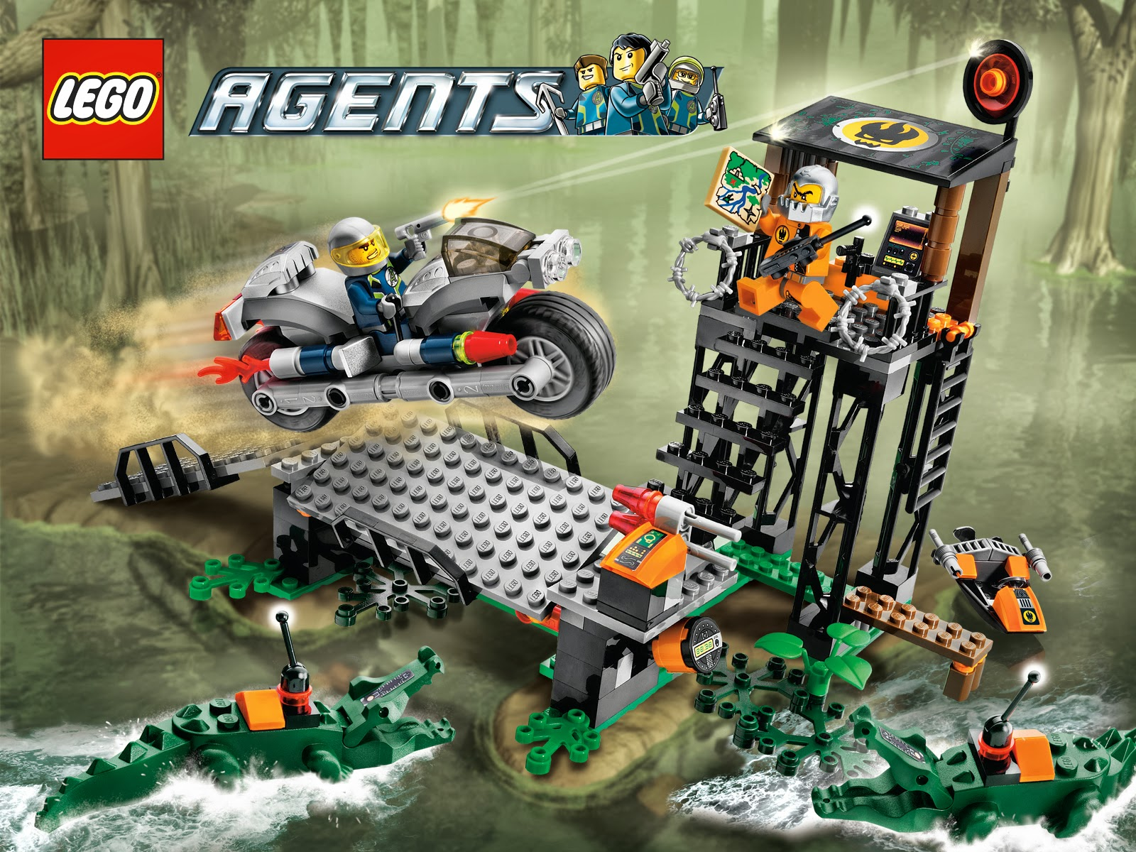 Mission 2  It has 2 minifigures  Agent Charge and Break Jaw    And 2    Lego Agents Mission 2