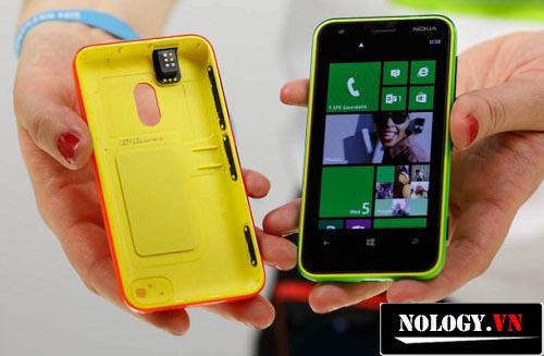 hình ảnh nắp lưng của nokia lumia 620