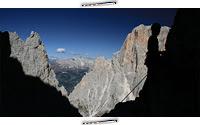Via Ferrata - Oskar Schuster, Sasso Lungo, Taliansko, obtiažnosť C