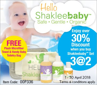 Shaklee Baby Promotion!