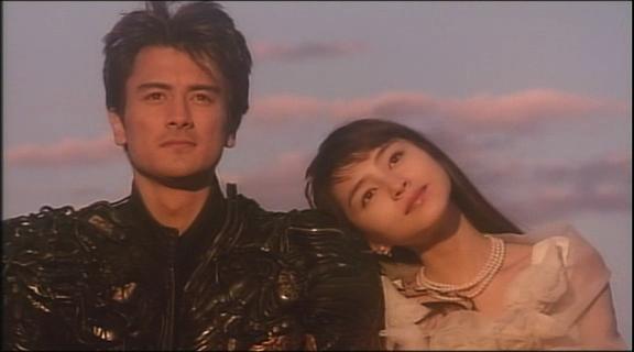 Kaoru and Hakaider in human form