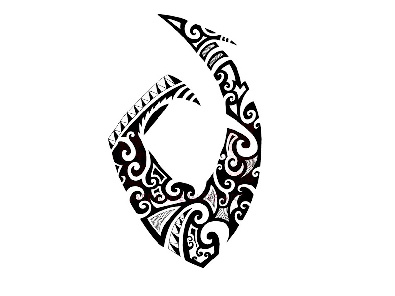 sharp abstract hook tattoo tattoo design of abstract hook with sharp  title=
