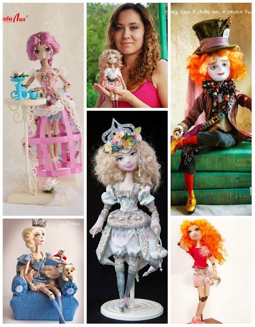 куклы Лии Султановой