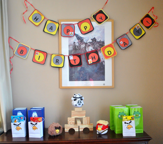 Angry Bird Star Wars Birthday Party
