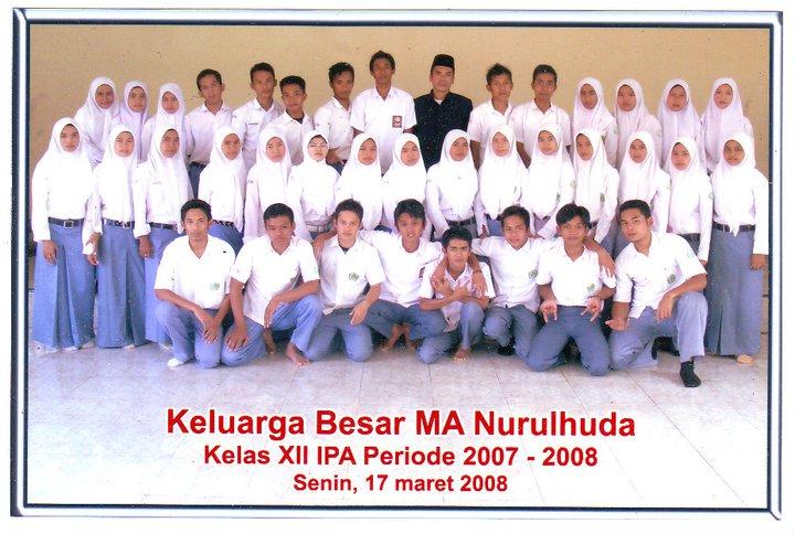 Photo Alumnus MA NH Tahun 2007-2008 Kelas XII IPA