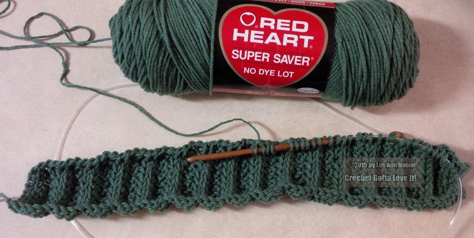 Crochet...Gotta Love It! Blog: Tunisian Rib Hat-My Attempt
