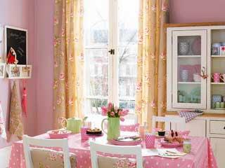 Inspiração: Cozinha rosa
