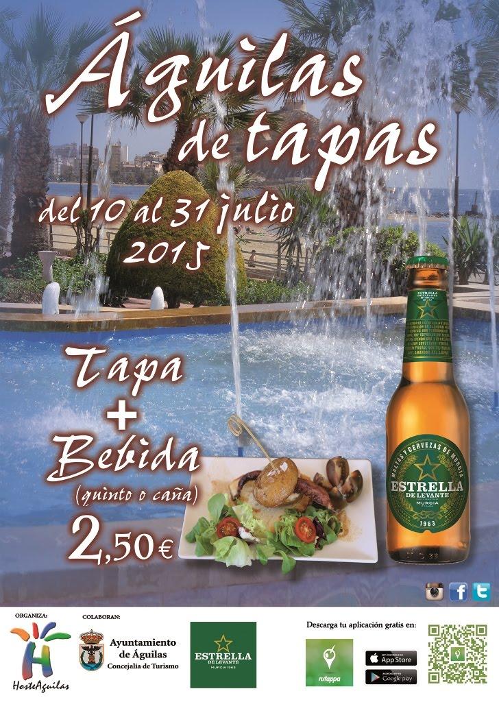 Águilas de Tapas 2015