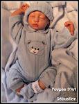 Sébastien  17 ''  3 lbs, né le 22 mars 2009