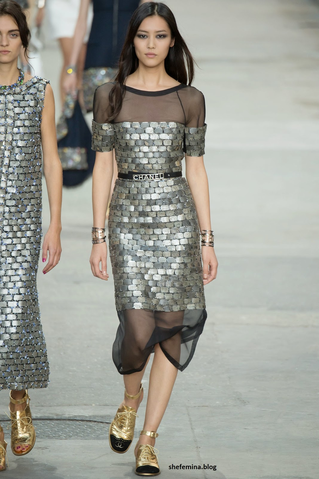 Chanel Spring 2015 dresses HD wallpaper 17