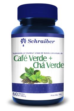 Café Verde + Chá Verde