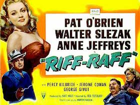 Cartel de cine: Riffraff (1947) (Riff-Raff)
