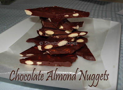 chocolate almond nuggets