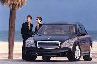 Mercedes Maybach - O conforto duma casa - Exterior carro