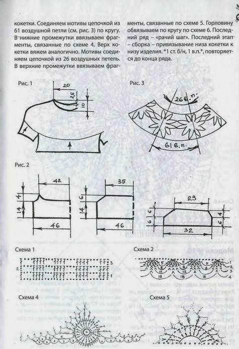 Blusas Tejidas a Crochet con Patrones Paso a Paso