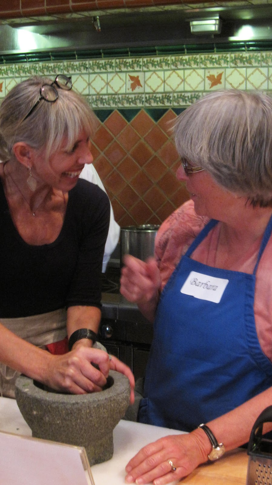 To market to market with san diego foodstuff alisa barry for Julia child cooking school