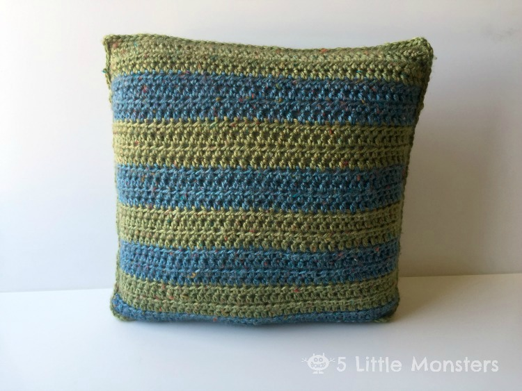 how to make a pillow cover with a flap