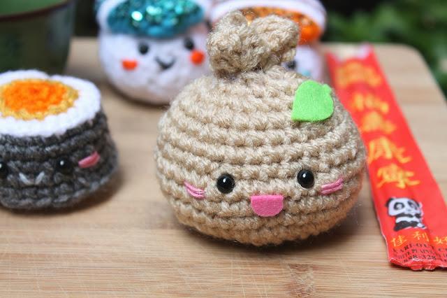 Amigurumi Food : Amigurumi Food: Sushi & Steam bun