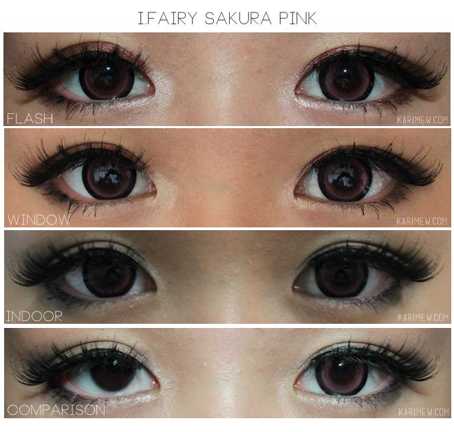 Go Candy or Natural: Cafe Mimi Machiato & Sakura Pink Circle Lenses