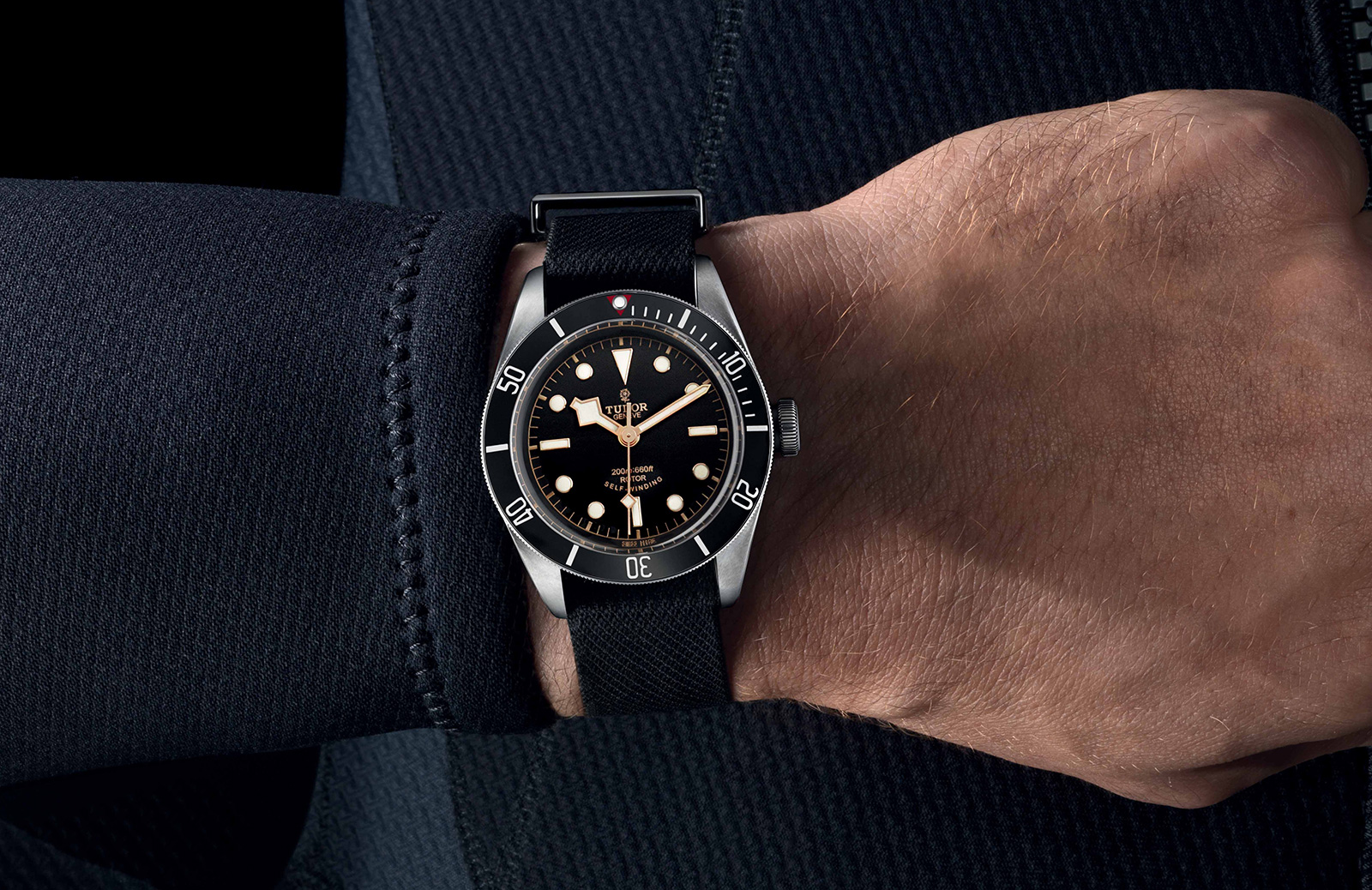 Watches by sjx tudor introduces the heritage black bay - Tudor dive watch price ...