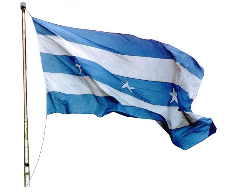 La bandera de Guayaquil