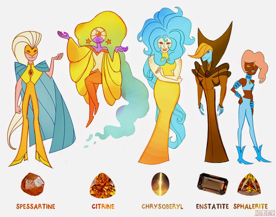 dou hong  steven universe  crystal gems