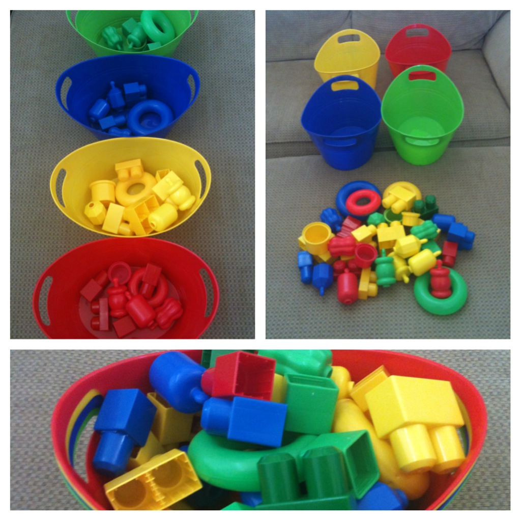 Activities for colors for toddlers - Toddler Activities Color Sorting With Toys Ideas