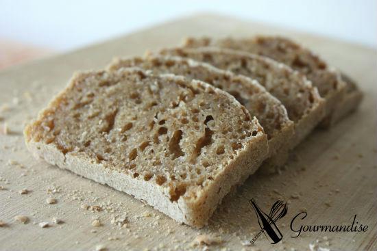 Pão de limão e fermento natural