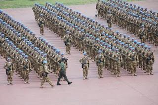 Demi Perdamaian, 1.169 Prajurit TNI Berangkat ke Lebanon