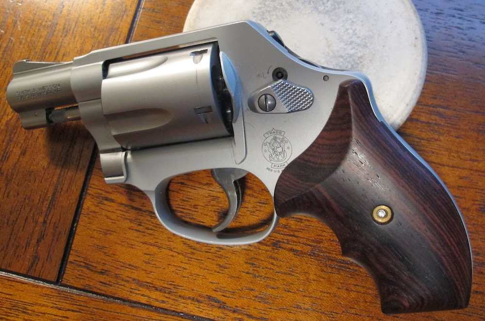 Modified Ahrends Tactical J-Frame Grips With Great Results