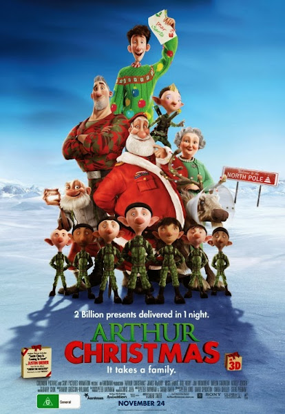 Arthur Christmas 2011 In Hindi hollywood hindi dubbed movie Buy, Download trailer Hollywoodhindimovie.blogspot.com