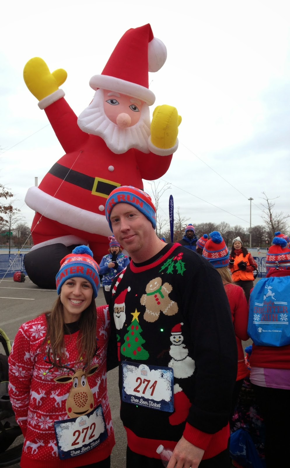 Ugly Sweater run Citi field