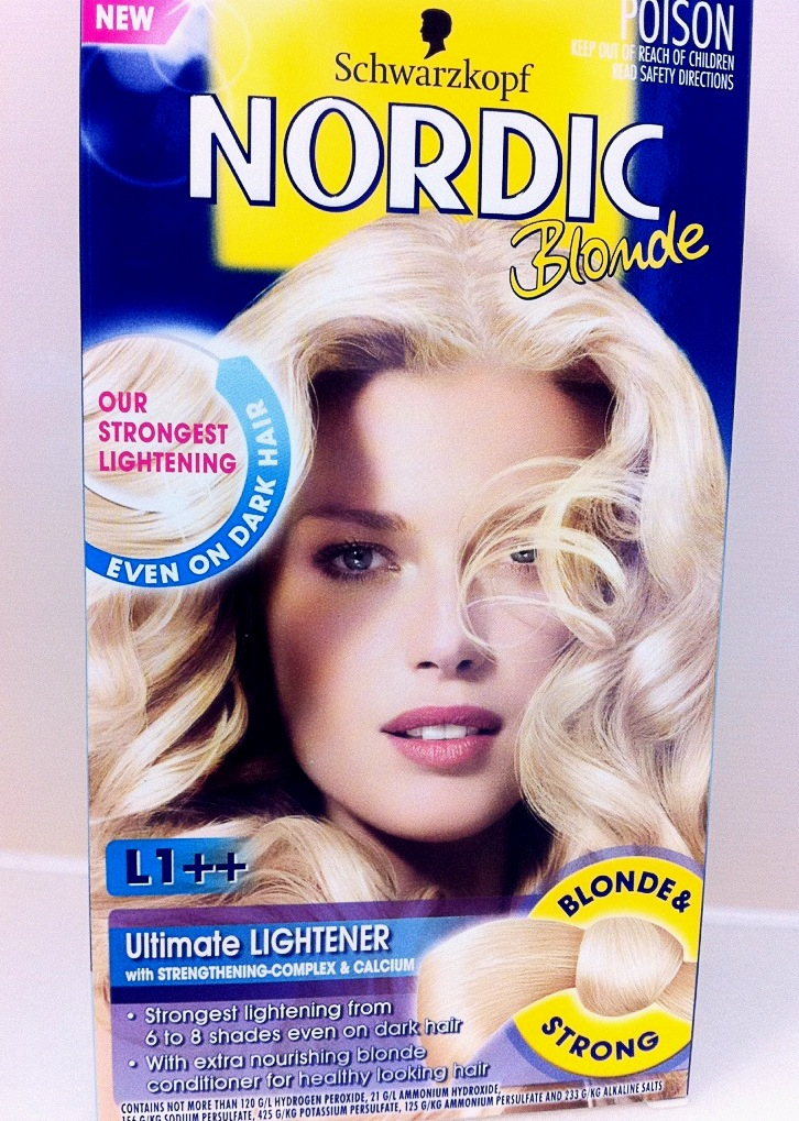 Lauren Day Makeup Blonde Ambition Schwarzkopf Nordic