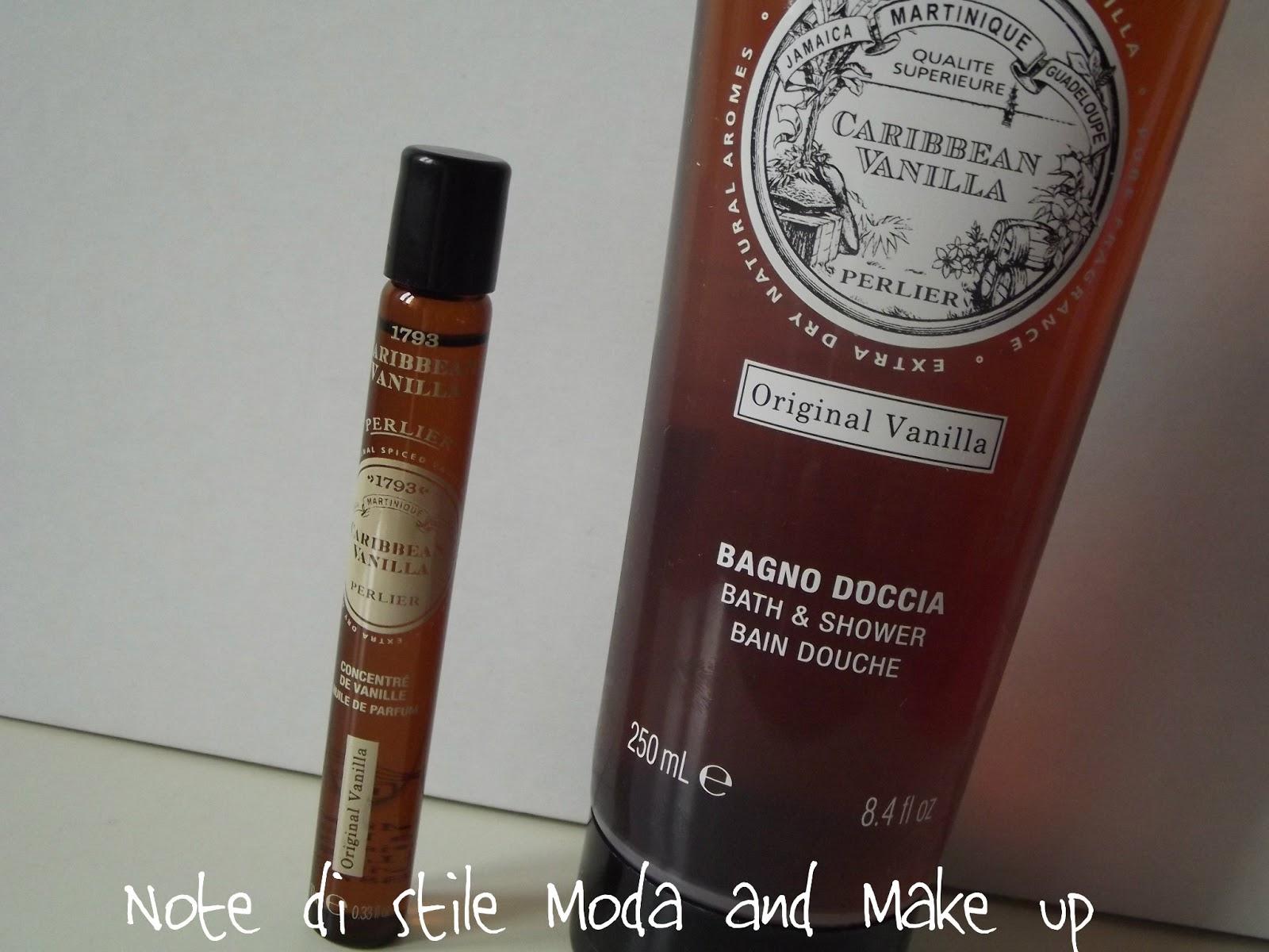 Perlier bagno doccia da 250 ml fragranza origial vanilla
