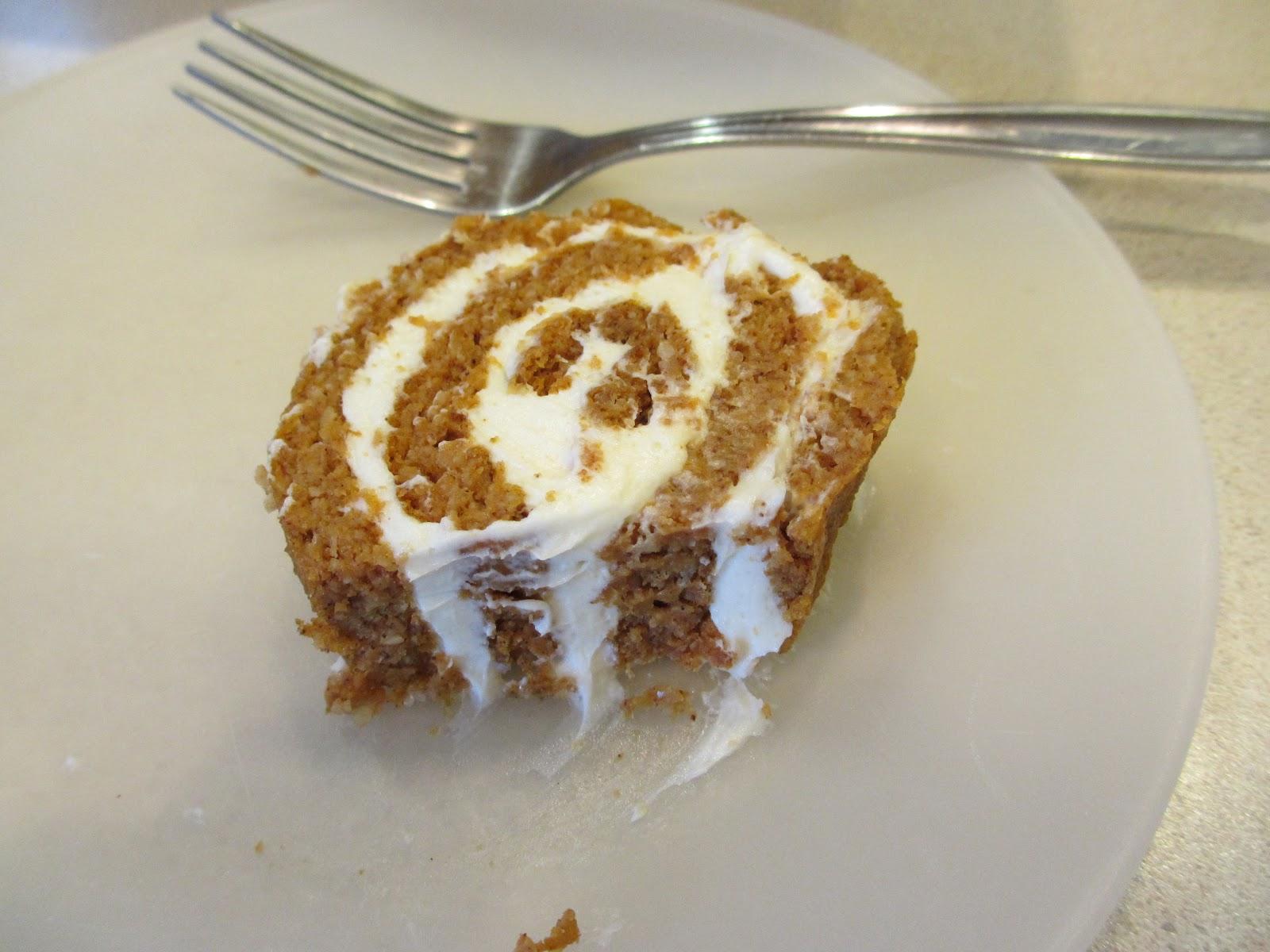See Carrie Eat: Pumpkin Cake Roll - 6.5g