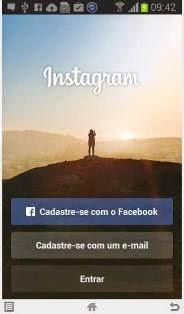 Como criar instagram