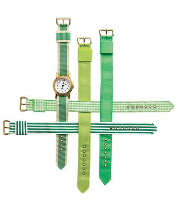 Relojes verdes boda