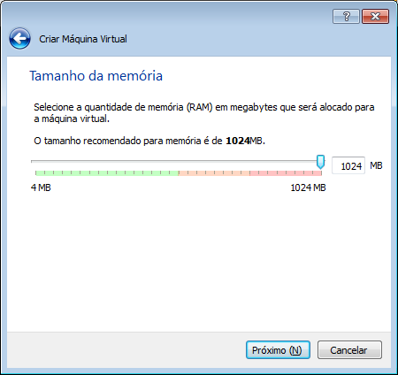 como colocar o windows no VirtualBox