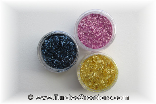 Home made edible glitter by Tunde Dugantsi