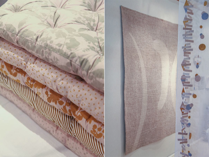felt rug - Muskhane Spring/Summer 2015 collection at M&O in Paris