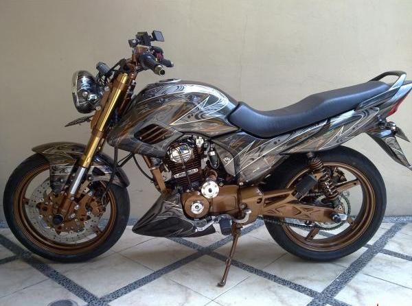 Modifikasi Honda Mega Pro 2007 Full Airbrush title=