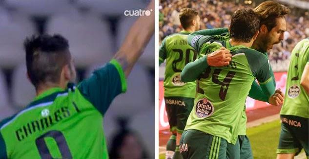 El Celta se impuso 0-2 al Deportivo