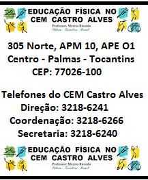 ENDEREÇO E TELEFONES