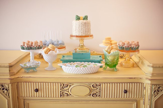 cake stands milk glass