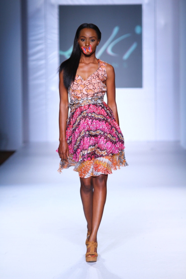 MTN Fashion And Design Week 2012: Eki Orleans nigerian fashion ciaafrique