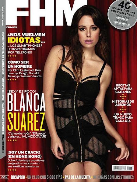 Blanca Suarez en la Portada de FHM España