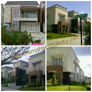 Sentul City: Di Jual Rumah Luas Bangunan 196 m2