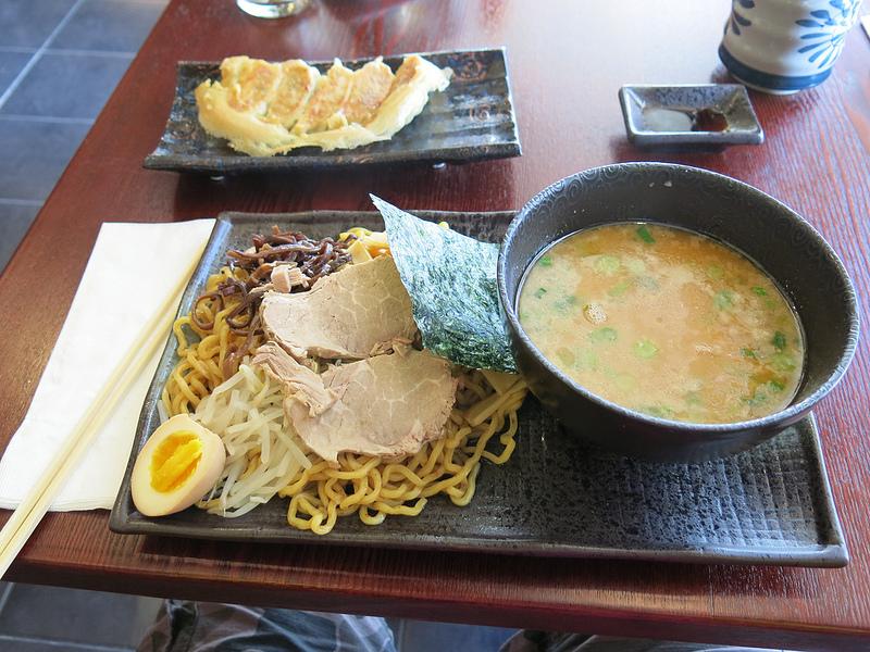 Full Noodle Frontity: Slurp du Jour: Tsukemen at Waraku Ramen Dining